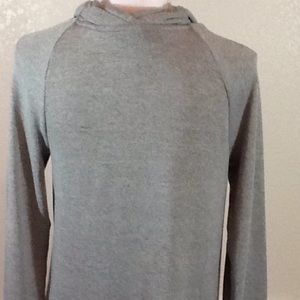 Anthropologie Tops - Anthropologie One September Gray Tunic Dress In M